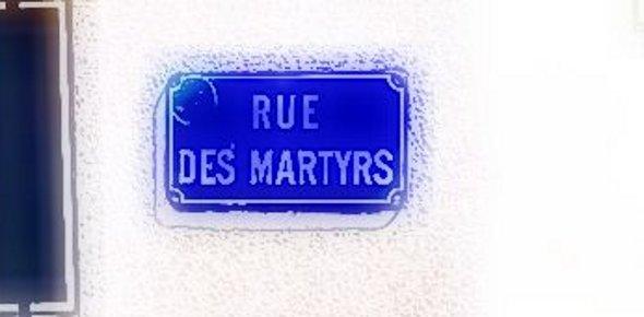 Rues de nantes rue des martyrs frederic for Miroir rue des martyrs