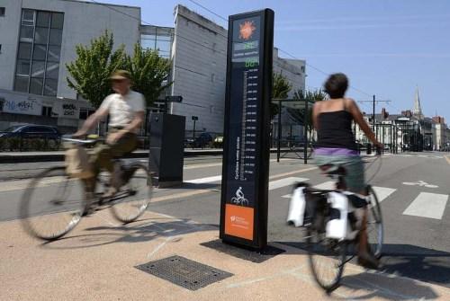 vélo compteur écologique