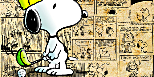 Snoopy_playing_golf