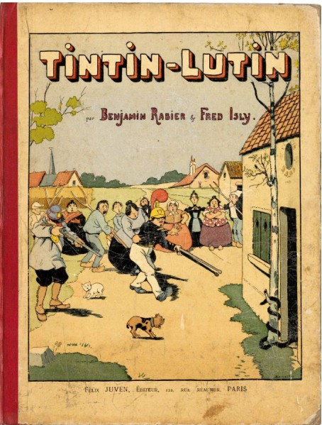 Tintin-Lutin Rabier Isly 18980001
