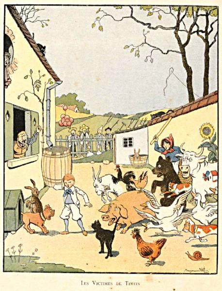 Tintin-Lutin Rabier Isly 18980003