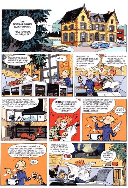 fb Spirou et Fantasio - Le groom de Sniper Valley - Yoann - Vehlmann - Dupuis - 2014