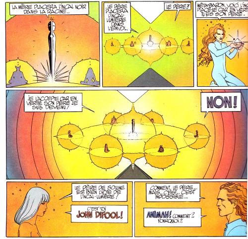3 8 L'incal - Ce qui est en bas - Jodorowsky - Moebius - Humanoides associés - 1983
