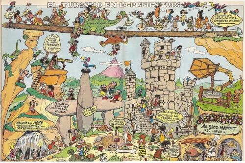 trazosenelbloc°blogspot°fr El turismo en la Prehistoria