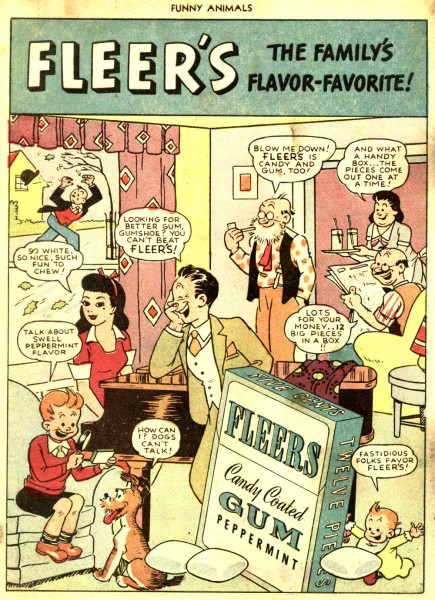Fawcetts Funny Animals N°037 - April - 1945