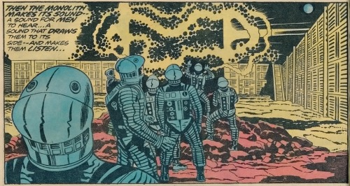 Jack Kirby - Frank Giacoia - 2001 A Space Odyssey - 1976 1