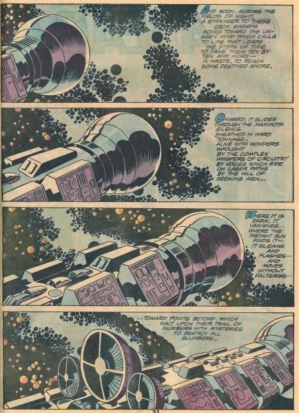Jack Kirby - Frank Giacoia - 2001 A Space Odyssey - 1976 2