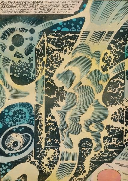 Jack Kirby - Frank Giacoia - 2001 A Space Odyssey - 1976 5