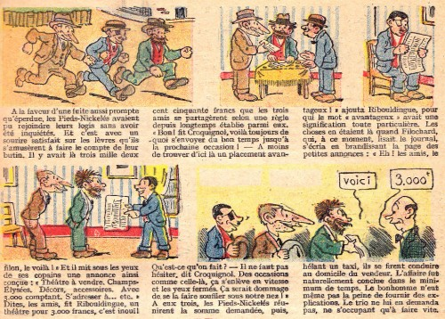 Les Pieds Nickelés en Amérique - Forton - SPE - 1933