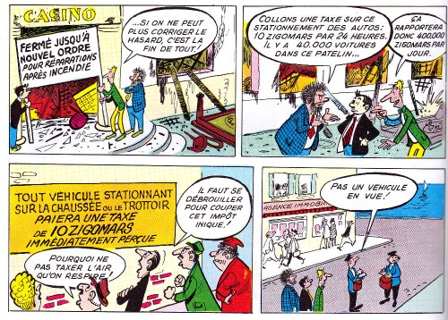 Les Pieds Nickelés ministres - Pellos - SPE - 1964