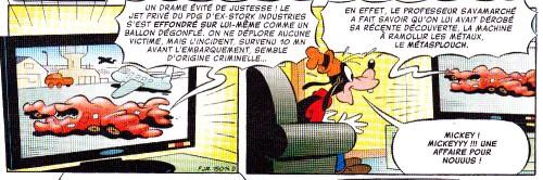 Mickey - énigme - Massé - Comic up - MIckey n°3005 - 21 oct 2015