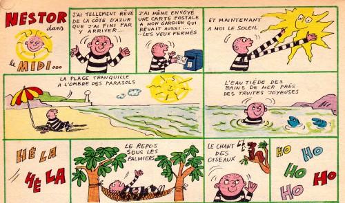 Nestor - Henru Crespi - Pif n°1288 - janvier 1970