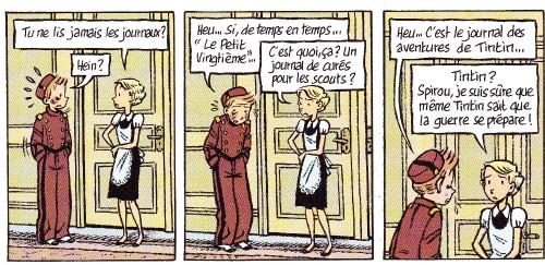 Spirou - Le journal d'un ingénu - Bravo - Chedru - 2009