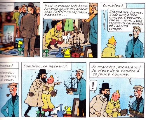Tintin - Le secret de la Licorne - Hergé - Casterman - 2008