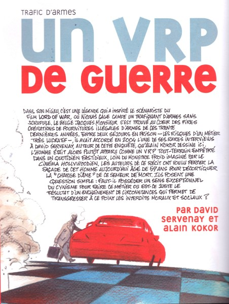 Un VRP de guerre - Servenay - Kokor - La Revue Dessinée n°2 - hiver 2013-2014 1