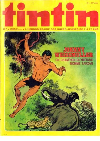 Le journal de Tintin (1978) N01