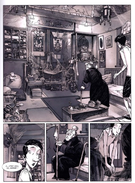 Une vie avec Alexandra David-Neel - Livre 1 - Campoy - Blanchot - GrandAngle - 2016