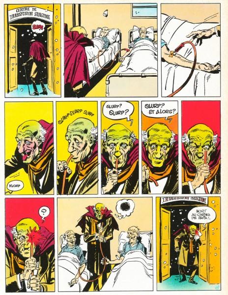 12 Le pauvre noël du vieux vampire Gotlib Alexis