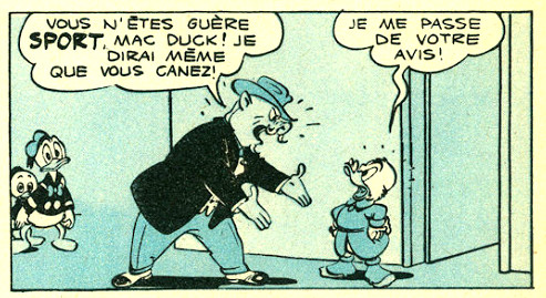 Mac Duck - La course de leur vie - Mickey magazine n°341 - 18-04-1957