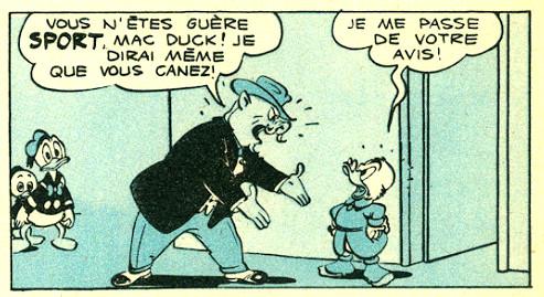 Mac Duck - La course de leur vie - Mickey magazine n°341 - 18-04-1957