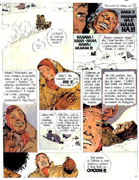 f-jonathan-lespace-bleu-entre-les-nuages-cosey-1978-tintin-belge-n36